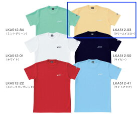 【ラッキーシール対応】■asics■ Tシャツ/クリームイエローペットボトルのリサイクル素材を使用LKA512-03【】
