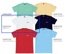 ■asics■ Tシャツ/ホワイトペットボトルのリサイクル素材を使用LKA512-01【】