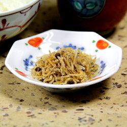 香りちりめん(ちりめん山椒)皿