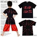 ダンス Tシャツ ダンス 衣装 キッズ ジュニア ダンス衣装 子供 ヒップホップ REMIXDANCE オリジナル ユニオンジャック プリントTシャツ