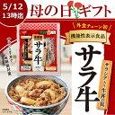 【母の日ギフト_早期特典・送料無料】吉野家 冷凍サラ牛5袋セット