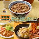 吉野家 夏休みお昼ご飯セット2 牛・豚・鶏バラエティセット