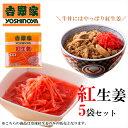 吉野家 冷凍 紅生姜おためし5袋セット【冷凍食品】