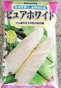 【雪印種苗】ピュアホワイト トウモロコシ種子 2000粒 【白とうもろこし種】【野菜の種】