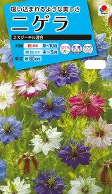 花種  NL150 ニゲラ ミスジーキル混合 小袋 [FZZ775]【花の種】【タキイのタネ】【送料110円〜】【ガーデニング】