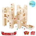 Mag-Building 知育玩具 積み木 おもちゃ ビー玉 転がし 木製 ブロック 立体 パズル スロープトイ 出産祝い 男の子 女…