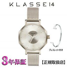 (あす楽)KLASSE14(クラス14) 腕時計 OKTO ROSEGOLD MESH 28mm [ブレスレット付き]  SSメッシュベルト メンズ レディース OK17SR001S [正規輸入品] 【楽ギフ_包装】【楽ギフ_のし】【楽ギフ_のし宛書】