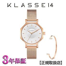 (あす楽)KLASSE14(クラス14) 腕時計 OKTO ROSEGOLD MESH 28mm [ブレスレット付き] ローズゴールド メッシュ メンズ レディース OK18RG004S [正規輸入品] 【楽ギフ_包装】【楽ギフ_のし】【クリスマスプレゼント】