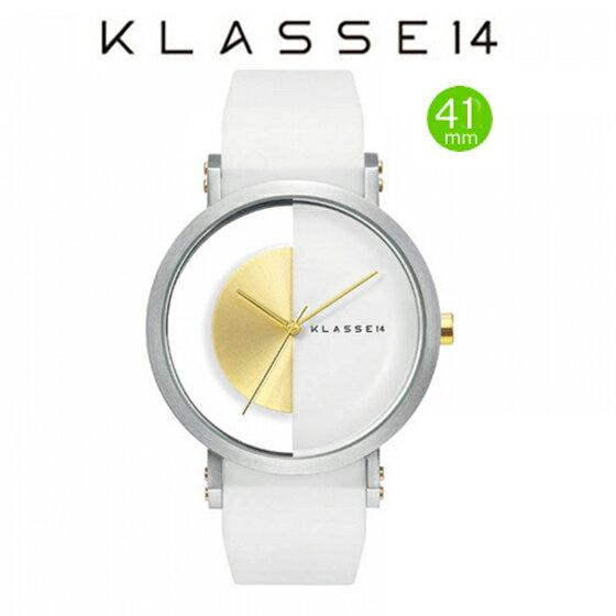 クラス14 Klasse14 腕時計 JT(Jane Tang) KLASSE14 imperfect arch WHITE IM15SR004M  (一部透過) 41mm【正規輸入品】 【楽ギフ_包装】【楽ギフ_のし】【楽ギフ_のし宛書】【楽ギフ_メッセ入力】