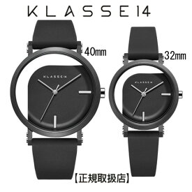 (あす楽)[クラス14]KLASSE14 腕時計 IMPERFECT ANGLE Black ペアウォッチ 40mm 32mm ブラックダイヤル (一部透過) WIM19BK011M WIM19BK011W ステンレスメッシュベルト付き【正規輸入品】7月発売モデル