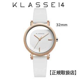 (あす楽)[クラス14]KLASSE14 腕時計 IMPERFECT ANGLE White 32mm ホワイトダイヤル (一部透過) WIM19RG009Wステンレスメッシュベルト付き【正規輸入品】 【楽ギフ_包装】【楽ギフ_のし】【楽ギフ_のし宛書】7月発売モデル