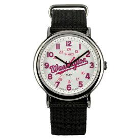 (あす楽)【国内正規品】TIMEX タイメックス 腕時計 ウィークエンダー ワシントンナショナルズMLBトリビュートコレクション TW2T55300
