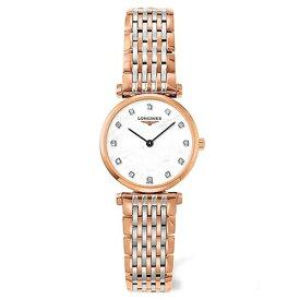 (あす楽)ロンジン 腕時計 ラ グラン クラシック ドゥ ロンジン腕時計 L4.209.1.97.7 ピンクゴールド/コンビ(レディース)マザーパール文字盤【送料無料】【RCP】【20P04Jun19】L42091977