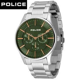 (あす楽)POLICE (ポリス) COURTESYコーテシー オリーブ/ローズゴールド 14701JS-53M /正規品