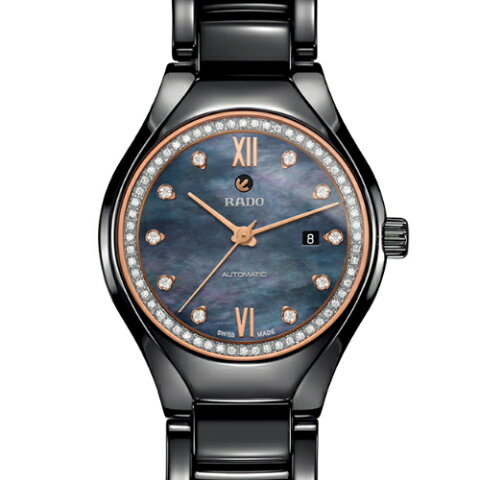 【RADO】ラドー 腕時計 TRUE AUTOMATIC DIAMONDS R27242852 自動巻 30mm 78g 自動巻 プレシャスストーン パワーリザーブ 最大38時間 (国内正規販売店)【送料無料】【楽ギフ_包装】