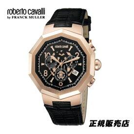 ロベルトカヴァリ バイ フランクミュラー クロノグラフ 腕時計 RV1G003L0031【送料無料】【父の日】【プレゼント】【ギフト】【包装】【当店人気NO1モデル】