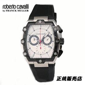 (あす楽)ロベルトカヴァリ バイ フランクミュラー クロノグラフ 腕時計 RV1G082P0041【送料無料】【父の日】【プレゼント】【ギフト】【包装】