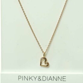 (あす楽)PINKY & DIANNE Passion Heart ピンキー&ダイアン パッションハート ネックレス シルバー ルビー ピンクゴールド SV(PGメッキ) VPCPD51486