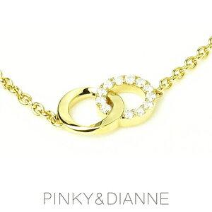 PINKY&DIANNEチェーンブレスレットシャープライン53215