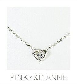 (あす楽)PINKY & DIANNE Dancing ピンキー&ダイアン ダンシング ネックレス シルバー キュービック SV(ロジウムメッキ)VPCPD51590