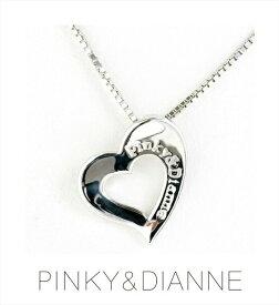 (あす楽) PINKY & DIANNE Silver ピンキー&ダイアン シルバー ネックレス キュービック SV(ロジウムメッキ)51527