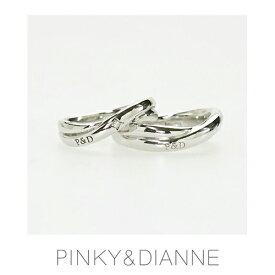 【ペア】PINKY & DIANNE LOVERS ピンキー&ダイアン ラヴァーズ ペアリング ダイヤモンド シルバー SV(ロジウムメッキ)50338-50337【送料無料】