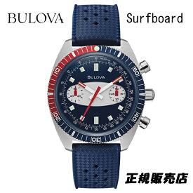 ブローバ BULOVA 腕時計 メンズ アーカイブシリーズ クロノグラフA サーフボード 98A253 正規品 (正規3年保証)【送料無料】