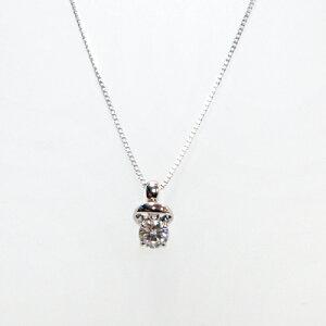 ラザールダイヤモンドスイングダイヤモンドネックレス0.19ctK18WGBrightnessofHope〜希望の光〜
