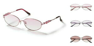 メガネケース付 紫外線カット サングラス ハーフカラーサングラス 女性用 UVカット リム チタン メガネフレーム 高級 高性能 CK8450N  【楽ギフ_包装】【楽ギフ_のし】【楽ギフ_のし宛書】