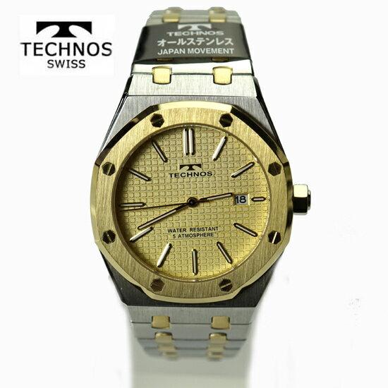 (あす楽)テクノス(TECHNOS) 腕時計 5気圧防水 T9539TC 最新定番モデル【RCP】【最安値挑戦】【送料無料】【楽ギフ_包装】02P04Sep18