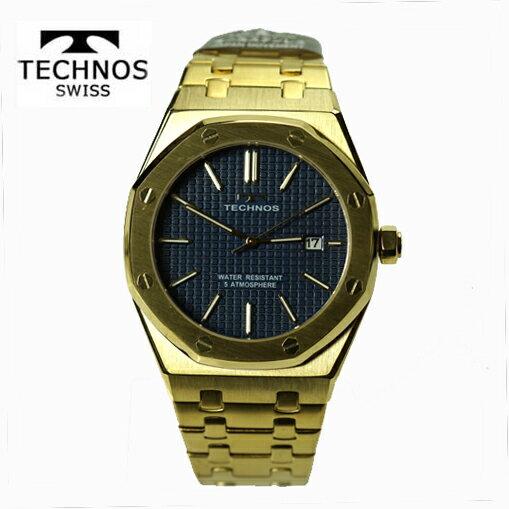 (あす楽) テクノス(TECHNOS) 腕時計 5気圧防水 T9539GN 最新定番モデル【RCP】【最安値挑戦】【送料無料】【楽ギフ_包装】02P04Sep18\37,800