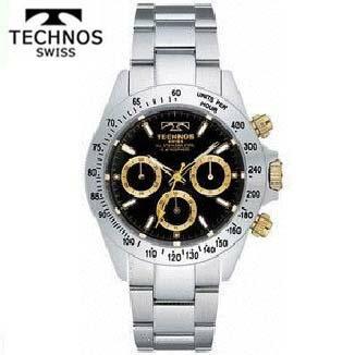テクノス(TECHNOS)腕時計 クロノグラフ 10気圧防水 TGM615LB【送料無料】【父の日】【楽ギフ_包装】【スーパーSALE】 02P04Mar19