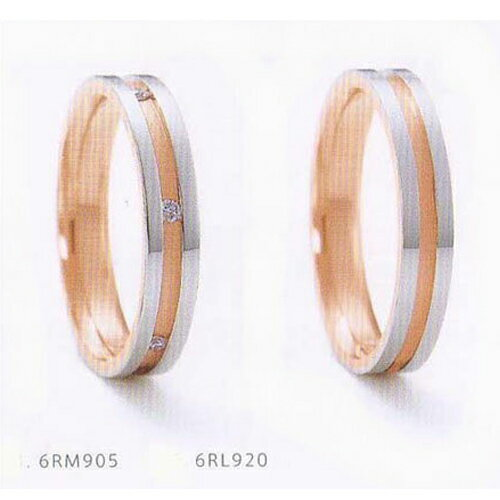 NINA RICCI ニナリッチ マリッジ  [結婚指輪] 6RL920 右側【最安値挑戦】【送料無料】【05P14Jun18】\78,840