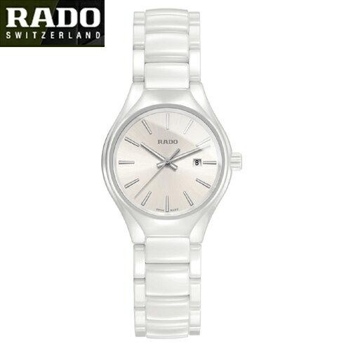 (あす楽)【RADO】ラドー  Rado NEW TRUE  ラドー ニュートゥルー ホワイト クォーツ  R27061012 (国内正規販売店)【10P14Jun18】