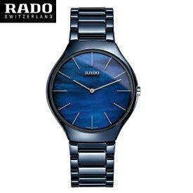 バーゼル新作モデル【RADO】ラドー 腕時計 トゥルー カラーズ ブルー クオーツ Rado  True  Colours ハイテクセラミックス R27005902 (国内正規販売店)【送料無料】【楽ギフ_包装】【10P04Jun19】