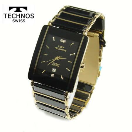 テクノス 腕時計 (TECHNOS) 3気圧防水 サファイアガラス T9137GB メンズ【送料無料】【RCP】【半額】【ホワイトデイ】0214Jun18