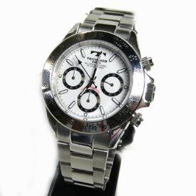 (あす楽) テクノス(TECHNOS)腕時計 クロノグラフ 10気圧防水 TGM615SW【RCP】【送料無料】【楽ギフ_包装】【半額】【スーパーセール】05P04Jun19