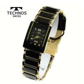 (あす楽)テクノス 腕時計 (TECHNOS) 3気圧防水 サファイアガラス T9796GB レディース【送料無料】【RCP】【スーパーセール】【ギフト】【ホワイトデイ】02P04Jun19