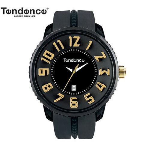 (あす楽)【正規品】テンデンス(TENDENCE) ラウンド ガリバー TG430011 ブラック×ゴールド 腕時計 【正規登録店】【送料無料】【楽ギフ_包装】バレンタイン 05P02Dec17