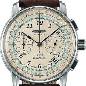 (あす楽)正規輸入品ツェッペリン腕時計FlatLineフラットラインブラウンレザーストラップ7362-1メンズ(自動巻)73621
