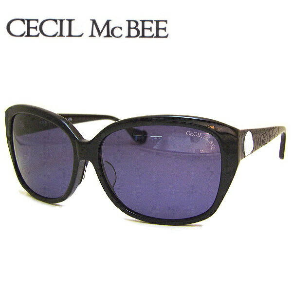 【送料無料】 セシルマクビー サングラス CECIL McBEE CMS1018 COL-1