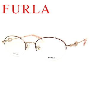 フルラ メガネフレーム FURLA VFU488J COL-0SBN SIZE-59 レディース