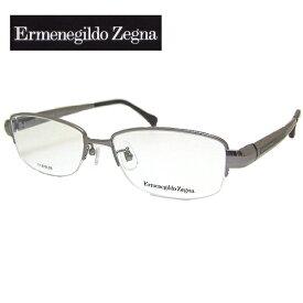 【送料無料】 エルメネジルド ゼニア メガネフレーム Ermenegildo Zegna VZ3326J COL-509 SIZE-55 メンズ
