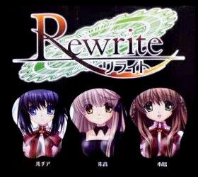 【未開封品】Rewrite リライト 立体マウスパッド 朱音 単品
