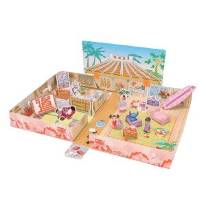 【新品】【外箱劣化有】タカラトミー ディズニー スティッチとユウナのめんそーれハウス