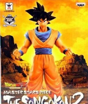 【未開封】ドラゴンボールZ 孫悟空2 MASTER STARS PIECE DRAGON BALL Z THE SON GOKOU2 フィギュア バンプレスト
