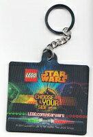 【未開封】LEGO レゴ スターウォーズstarwars chooseyourside キーホルダー ストラップ 5002139