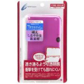 【新品】CYBER イージーハードケース 3DSLL用 クリアピンク サイバーガジェット