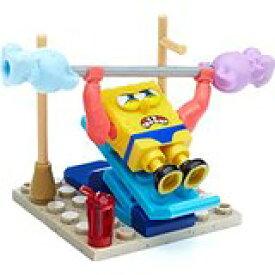 【未開封】MegaBloks SpongeBobSquarePantsWackyGym Building Kit メガブロックスポンジ・ボブスポーツジム おもちゃ