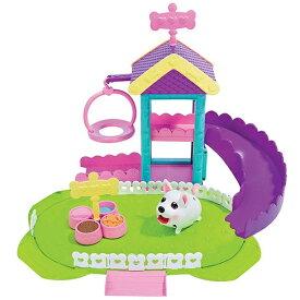 【新品】チャビーパピーズ ポメラニアンがついたわんわんパークセット メガハウス おもちゃ